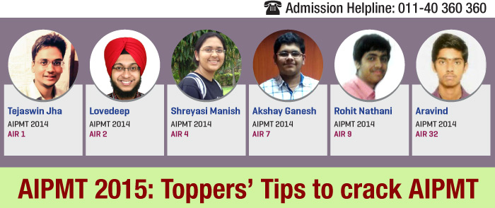 AIPMT 2015: Toppers' tips to crack AIPMT