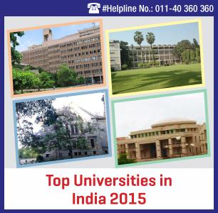 Top Universities in India 2015