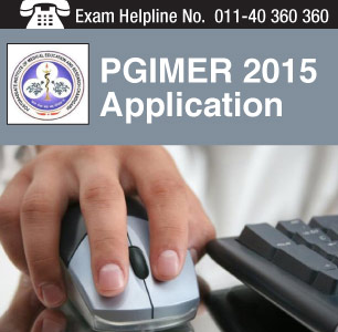 PGIMER 2015 Application Form