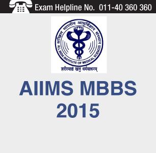AIIMS MBBS 2015