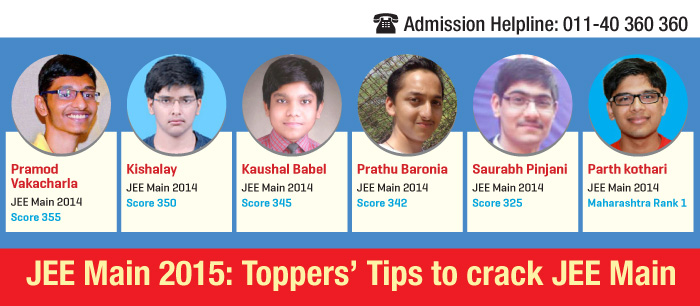 what to do after cracking jee mains