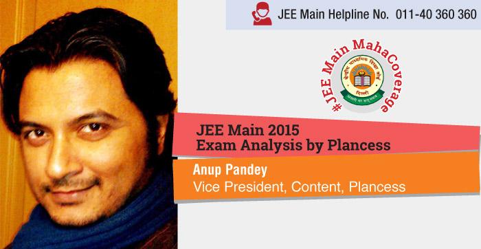 JEE Main 2015 Exam Analysis by Plancess