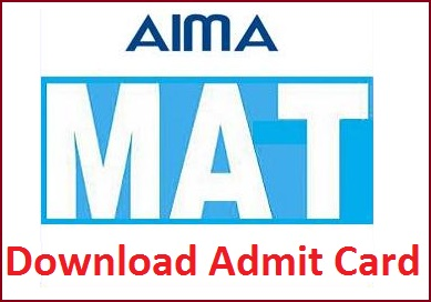 AIMA MAT May 2015 Admit Card Available from April 25