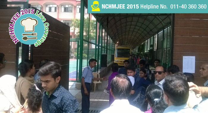 NCHM JEE 2015 Exam Experience in Pictures