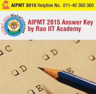 AIPMT 2015 Retest Answer Key by Rao IIT Academy