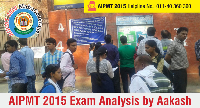 AIPMT 2015 Analysis by Aakash Educational Services