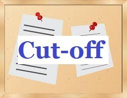 BLAT 2015 Cutoff