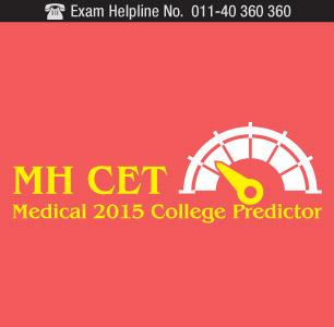 MH CET 2015 College Predictor