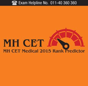 MH CET Medical 2015 Rank Predictor