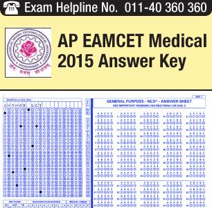 AP EAMCET Medical 2015 Answer Key
