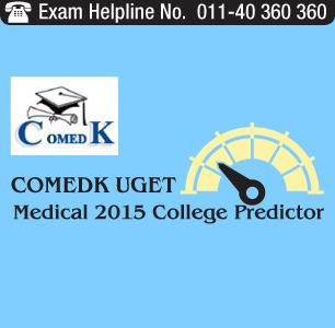 COMEDK UGET Medical 2015 College Predictor