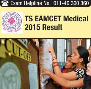TS EAMCET Medical 2015 Result