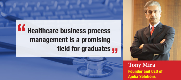 Healthcare business process management is a promising field for graduates