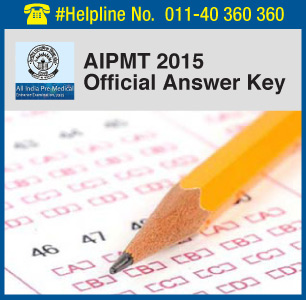 AIPMT 2015 Official Answer Key
