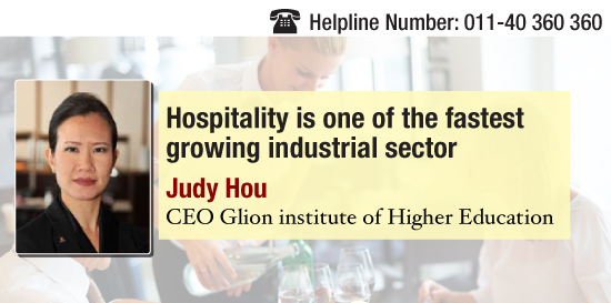 'Hospitality management sector is growing at a fast pace'