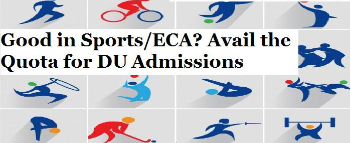 Delhi University Admissions: Good in Sports and ECA; avail the Quota