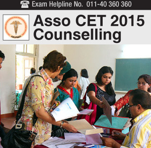 ASSO CET 2015 Counselling