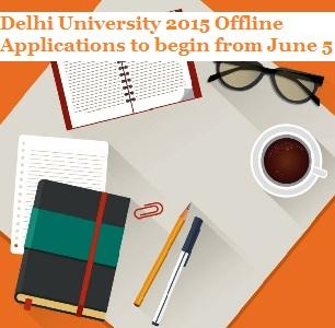 Delhi University 2015 Offline Applications to begin from June 5; 200000+ online registrations till date
