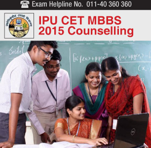 IPU CET MBBS 2015 Counselling