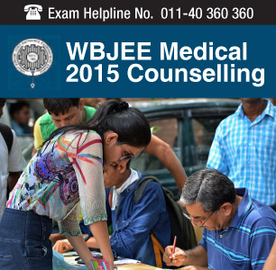 WBJEE Medical 2015 Counselling