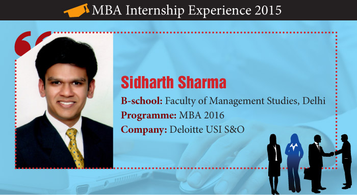 How Sidharth Sharma converted challenges into opportunities during his Summer Internship