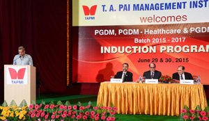TAPMI commences PGDM batch of 2015-17