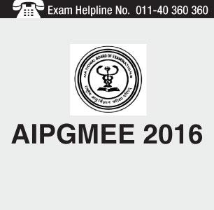 AIPGMEE 2016