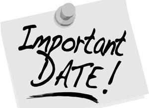 JAM 2016 Important Dates