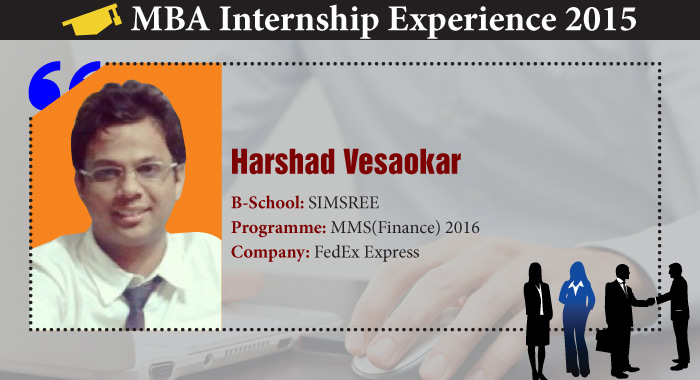 What Logistics Industry taught Harshad Vesaokar during his Summer Internship