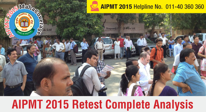 AIPMT 2015 Retest- Overall Analysis