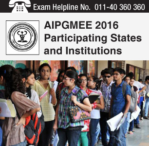 AIPGMEE 2016 Participating States and Colleges