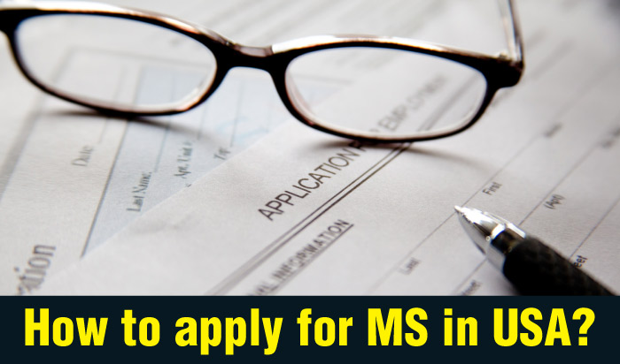 How to apply for MS in USA?