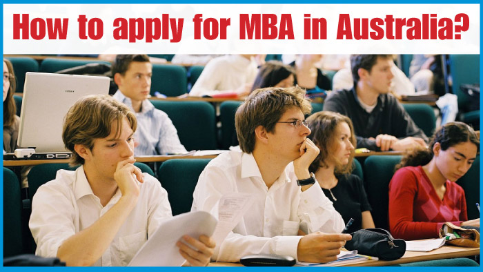 How to apply for MBA in Australia?