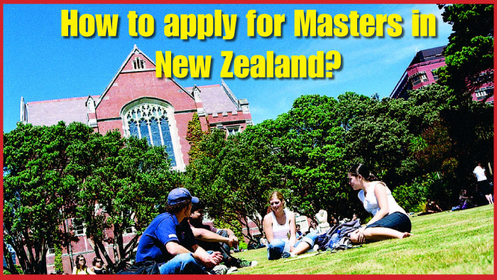 How to apply for Masters in New Zealand?