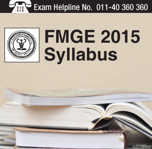 FMGE 2015 Syllabus