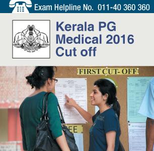 Kerala PG Medical 2016 Cut off