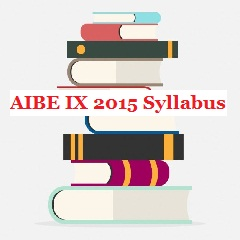 AIBE IX 2015 Syllabus