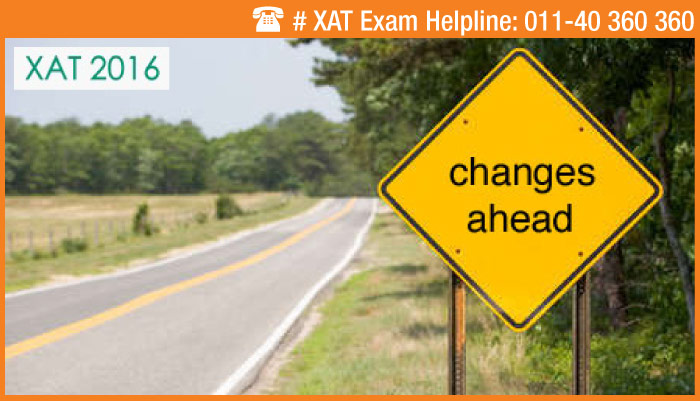 XAT 2016 - Changes announced in duration and marking scheme