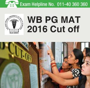WB PG MAT 2016 Cut off