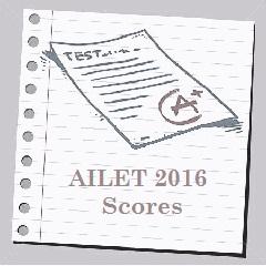 AILET 2016 Score