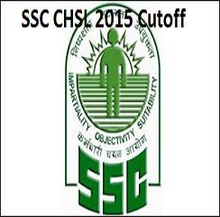 SSC CHSL 2015 Cutoff