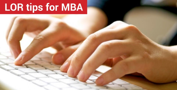 LOR tips for MBA