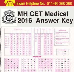 mh cet medical 2016 answer key download now