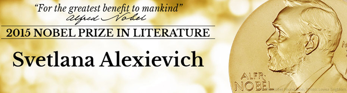 Svetlana Alexievich bags Nobel Prize 2015 in Literature for 'Monument to suffering in our time'