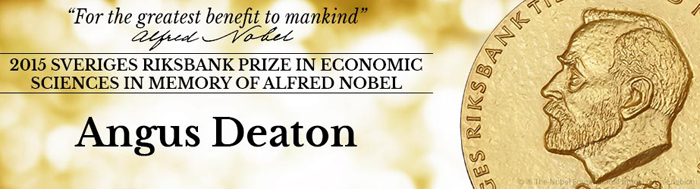 Angus Deaton, US Prof wins Nobel Prize 2015 in Economics for his analysis on poverty theory