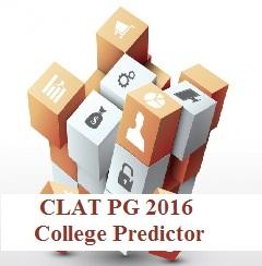 CLAT PG 2016 College Predictor