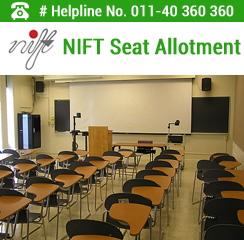 NIFT 2016 Seat Allotment
