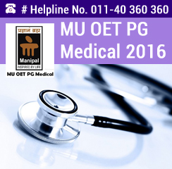 MU OET PG Medical 2016
