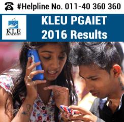 KLEU PGAIET 2016 Result