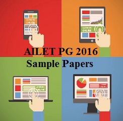 AILET PG 2016 Sample Papers
